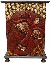 Oriental Galerie Schrank Buddha Wandschrank