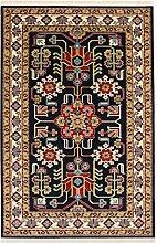 Oriental Medium Perser Design Teppich 120X 170CM 5,6x 3,9Ft Navy Blau Teppiche Traditioneller Teppich