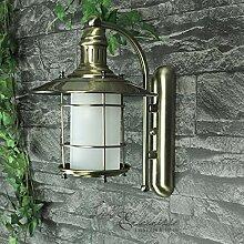 orientalisch anmutende LED Energiespar-Wandlaterne