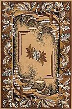 Orientalisch Teppich Floral Bordüren Optik