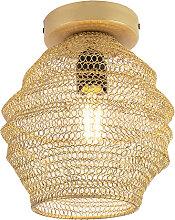 Orientalische Deckenlampe Gold - Nidum Bene
