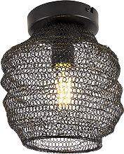 Orientalische Deckenlampe schwarz - Nidum Bene