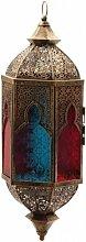 Orientalische farbenfrohe Laterne hängend