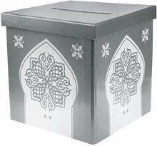 orientalische Geld Box Silber