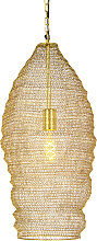 Orientalische Hängelampe Gold 25 cm - Nidum