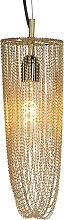 Orientalische Hängelampe Gold - Catena Cabalto