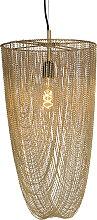 Orientalische Hängelampe Gold - Catena Nichel