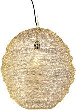 Orientalische Hängelampe Gold - Nidum Gran
