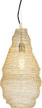Orientalische Hängelampe Gold - Nidum Rombo