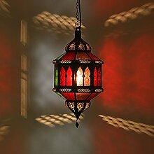 Orientalische Hängeleuchte Hängelaterne Hängelampe Deckenlampe Orientalisch Marokkanische Lampe Laternen Deckenlampe Trombia Biban Multifarbig