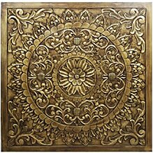 Orientalische Holz Ornament Wanddeko Badu 120cm