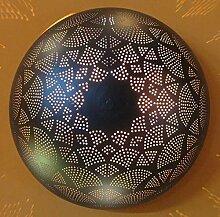 Orientalische Indische Wandlampe Nila Schwarz
