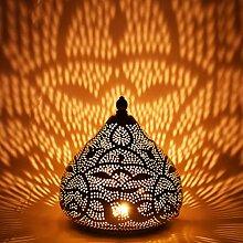 Orientalische kleine Tischlampe Lampe Maysa 21cm