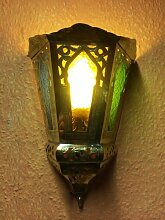 Orientalische lampe aus Messing Souraya Multi