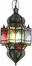 Orientalische Lampe Cerin 50cm marokkanische Hängelampe arabische Glaslampe Orientleuchte