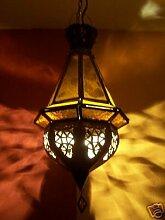 Orientalische Lampe Moulay Gelb