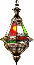Orientalische Lampe Pendelleuchte Bunt Abdi 60cm