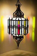 Orientalische Lampe Pendelleuchte Bunt Asham 60cm