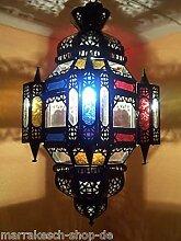 Orientalische Lampe Pendelleuchte Bunt Falak 60cm