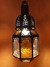 Orientalische Lampe Pendelleuchte Bunt Haifa 40cm