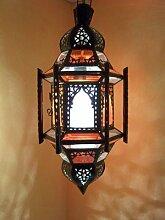 Orientalische Lampe Pendelleuchte Bunt Jahan 45cm
