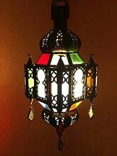 Orientalische Lampe Pendelleuchte Bunt Mahira 35cm