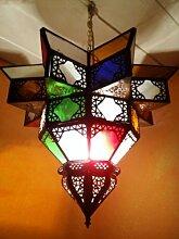 Orientalische Lampe Pendelleuchte Bunt Noha 43cm