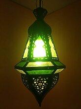 Orientalische Lampe Pendelleuchte Grün Anya 35cm