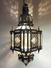 Orientalische Lampe Pendelleuchte Klar Askin 56cm