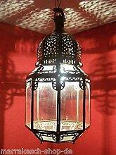 Orientalische Lampe Pendelleuchte Klar Haifa 40cm