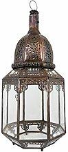 Orientalische Lampe Pendelleuchte Klar Haifa 60cm