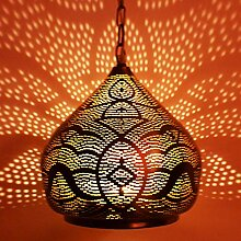 Orientalische Lampe Pendelleuchte Maysa 27cm