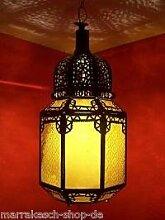 Orientalische Lampe Pendelleuchte Orange Haifa
