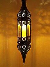 Orientalische Lampe Pendelleuchte Orange Rihana
