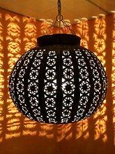 Orientalische Lampe Pendelleuchte Rostfarben