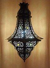 Orientalische Lampe Pendelleuchte Rostfarben Elmas
