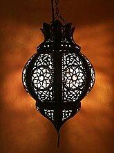 Orientalische Lampe Pendelleuchte Rostfarben Mofta