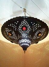 Orientalische Lampe Pendelleuchte Schwarz Anbar