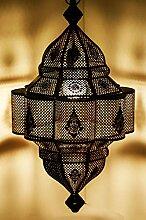 Orientalische Lampe Pendelleuchte Schwarz Enes