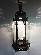 Orientalische Lampe Pendelleuchte Weiß Bayan 50cm