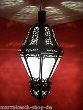 Orientalische Lampe Pendelleuchte Weiß Ksar 53cm