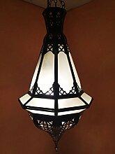 Orientalische Lampe Pendelleuchte Weiß Maimouna