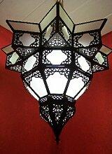Orientalische Lampe Pendelleuchte Weiß Noha 43cm