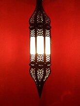 Orientalische Lampe Pendelleuchte Weiss Rihana