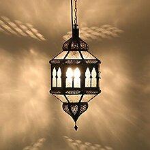 Orientalische Lampen Marokkanische Hängeleuchte Hängelaterne Orientalisch Lampe Hängelampe Deckenlampe Trombia Biban Weiß