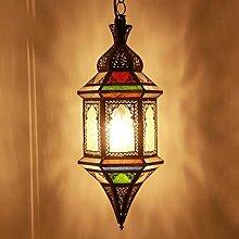 Orientalische Laterne Hängelaterne Hängeleuchte Hängelampe Marokkanische Lampe Tagiya