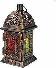 Orientalische Laterne Windlicht Balkon Garten Deko