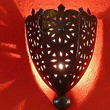 Orientalische Leuchte Wand Lampe aus Schmiedeisen