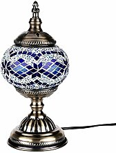 Orientalische Marokkanische Lampe Mosaik Glaslampe