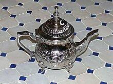 Orientalische marokkanische Tee Kanne Metall